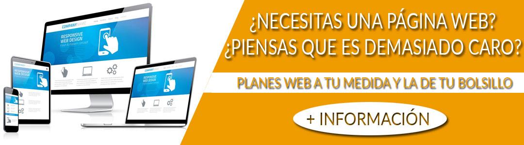 Diseño de páginas web profesionales en Xàtiva