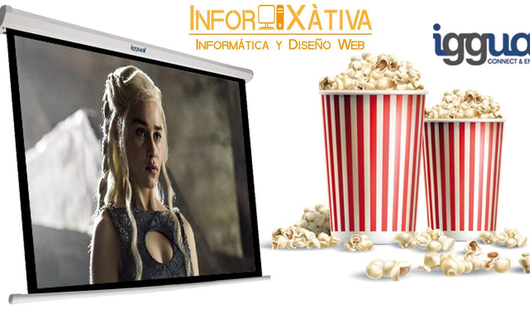 Monta tu propio cine en casa