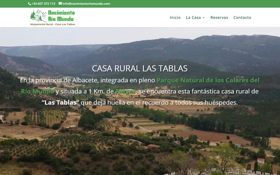 Casa rural Las Tablas