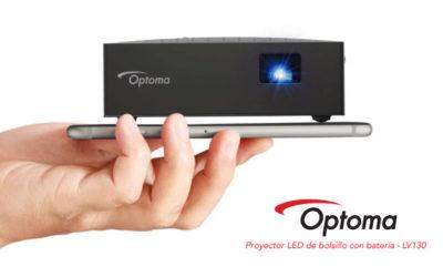 Nuevo proyector de bolsillo Optoma LV130