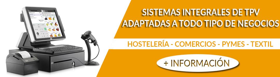 Venta de sistemas TPV en Xàtiva